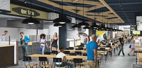 Community-Focused Food Halls