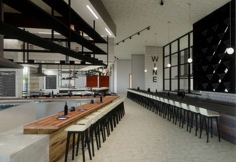 Curated Upscale Food Halls
