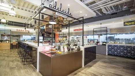 Multicultural Food Market Hubs