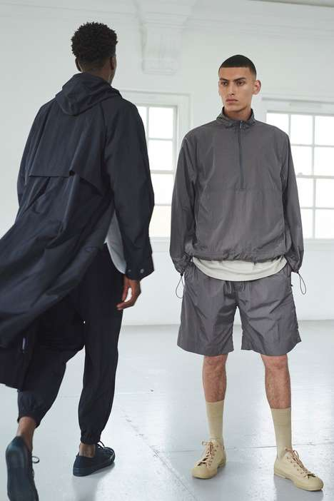 Understated Clean-Cut Fashion