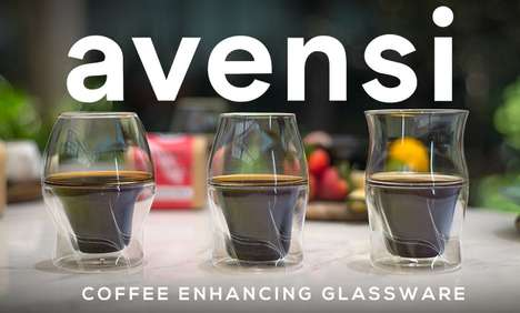 Coffee-Enhancing Glassware