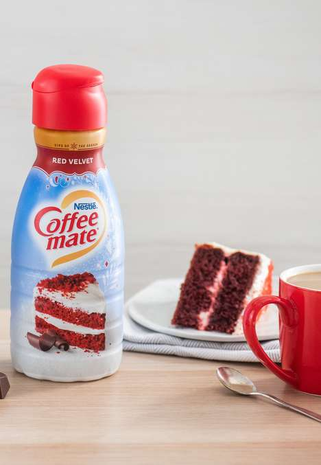 Cake-Inspired Coffee Creamers