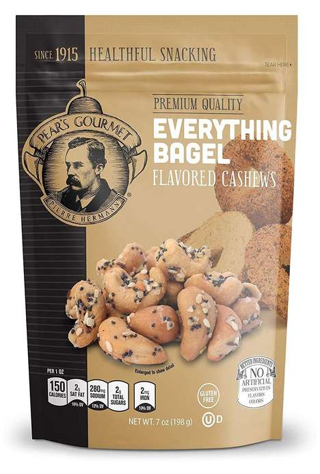 Bagel-Inspired Nut Snacks