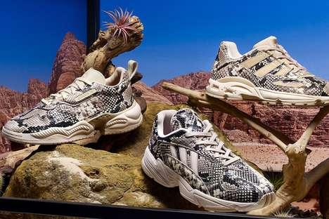 Snakeskin-Inspired Sneaker Designs