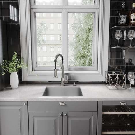 Leak-Sensing Faucets