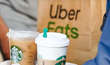 Delivery App Coffee Partnerships
