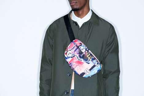 Artist-Adorned Graphic Bag Lines
