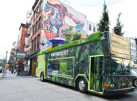 Stress Relief Skincare Buses