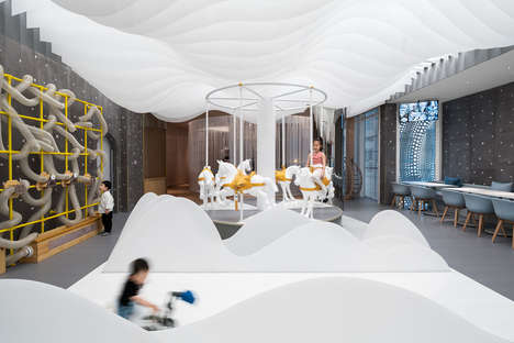 Whimsical Kid-Friendly Cafes