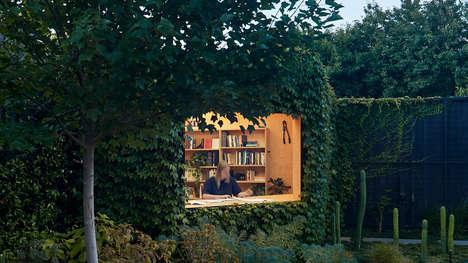 Ivy-Covered In-Garden Studios