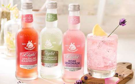 Sparkling Low-Calorie Cocktail Mixers