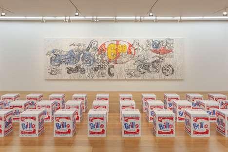 Pop Art-Inspired Contemporary Exhibits