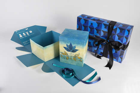 Flat-Pack Gift Boxes
