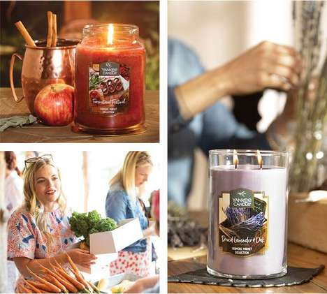 Farmers Market Candle Collections