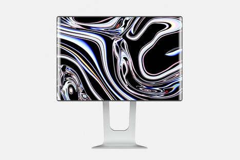 360-Degree Rotation Computer Screens
