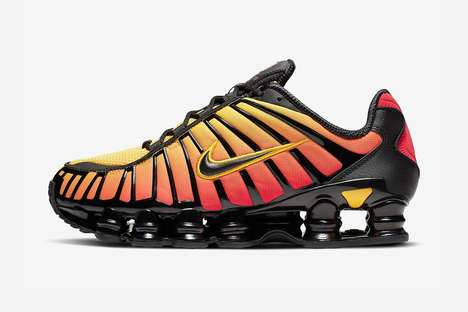 Gradiant Tonal Bouncy Sneakers