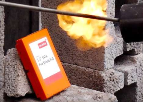 Flame-Resistant Hard Drives