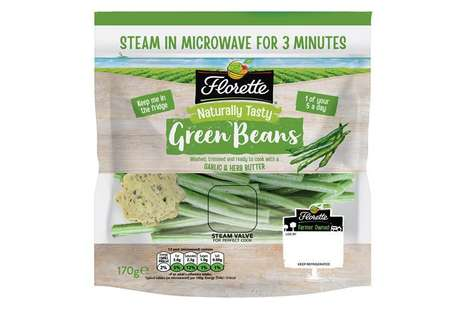 Microwaveable Vegetable Products