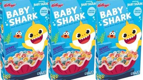 Shark-Themed Cereals