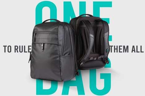 Modular AC-Equipped Backpacks