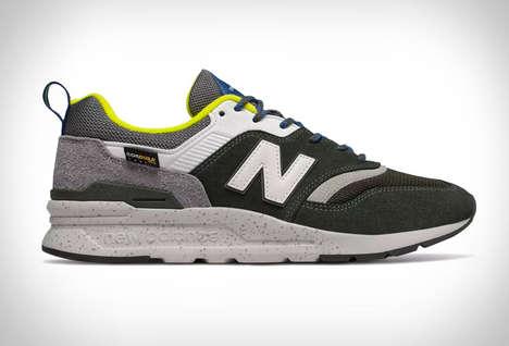 Ruggedly Revamped 90s Sneakers