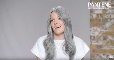 Gray Hair-Celebrating Ads