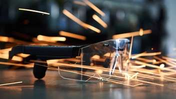 Bone Conduction Safety Glasses