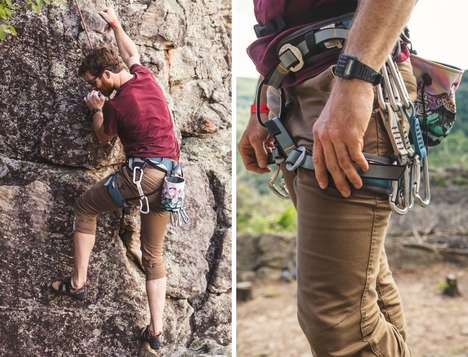 Active Lifestyle Canvas Pants