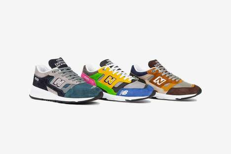 Bright Comfy Sneaker Colorways