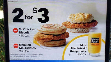 Fried Chicken Breakfast Sandwiches