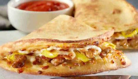 Italian-style Flatbread Sandwiches