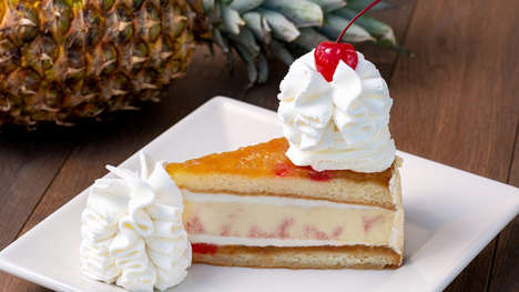 Pineapple Upside-Down Cheesecakes