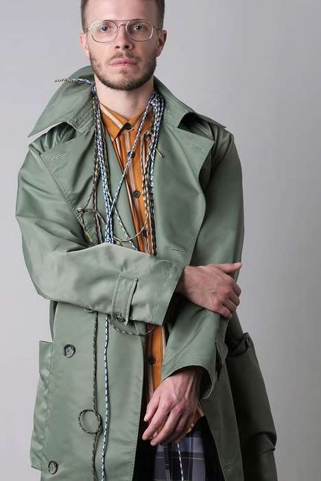 Relaxed Slouched Neutral Menswear