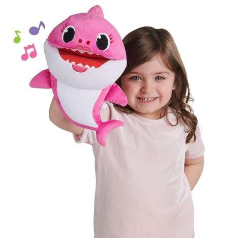 Singing Shark Puppets