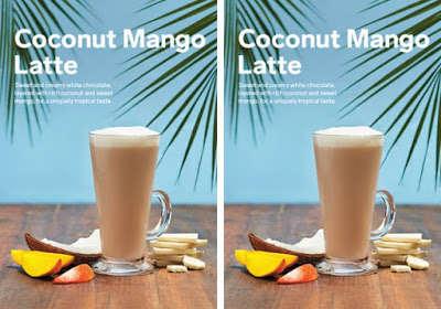 Coconut Mango Lattes