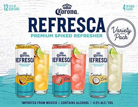 Mexico-Imported Premium Spiked Seltzer