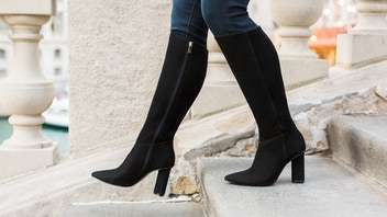 Luxurious Wide Calf-Specific Boots