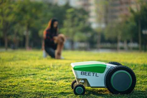 Pet Waste-Cleaning Robots