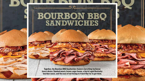 Southern BBQ-Themed QSR Sandwiches