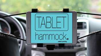 Suspended Car Tablet Mounts
