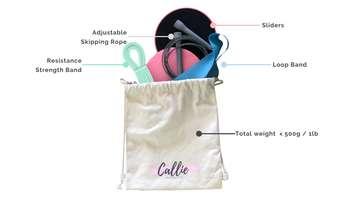Lightweight Travel Fitness Kits
