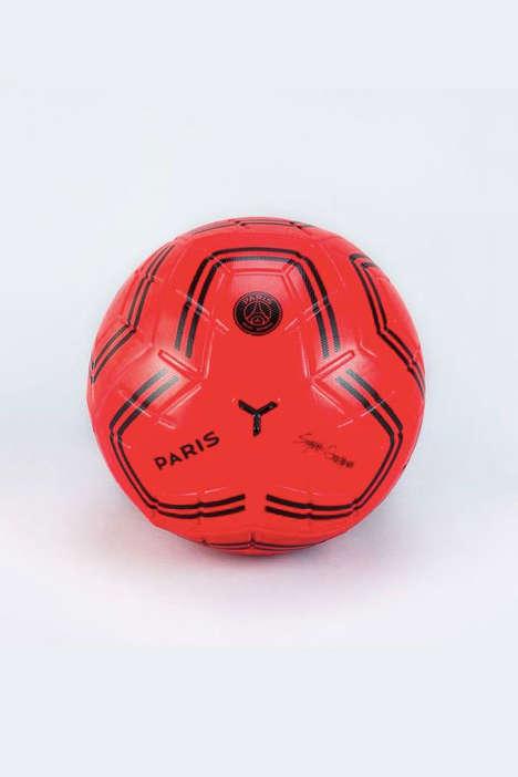 Durable Club-Themed Balls