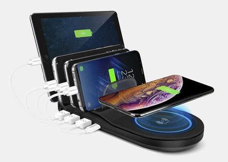 Charge-Optimizing Device Hubs