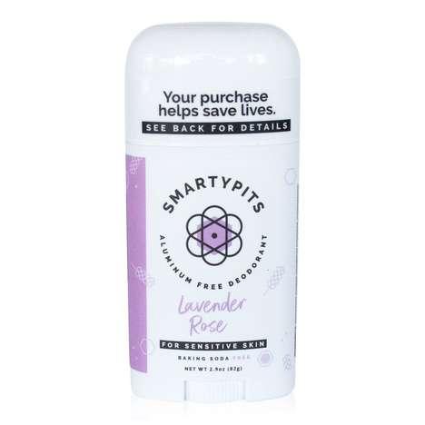 Prebiotic Aluminum-Free Deodorants