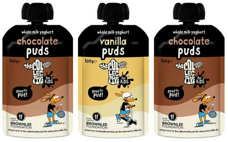 Healthy Pouch-Packaged Yogurts