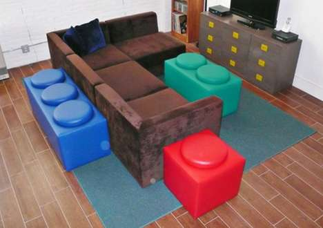 Building Block-Inspired Furniture
