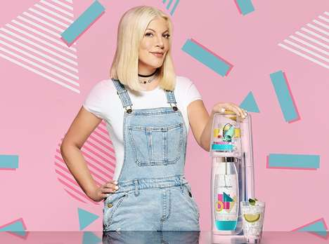 90s-Themed Sparkling Water Appliances