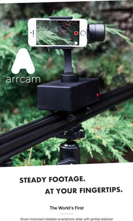 Motorized Smartphone Photography Mounts