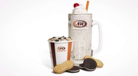 Nutty Cookie-infused Milkshakes