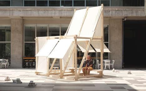 Community-Built Mindful Pavilions